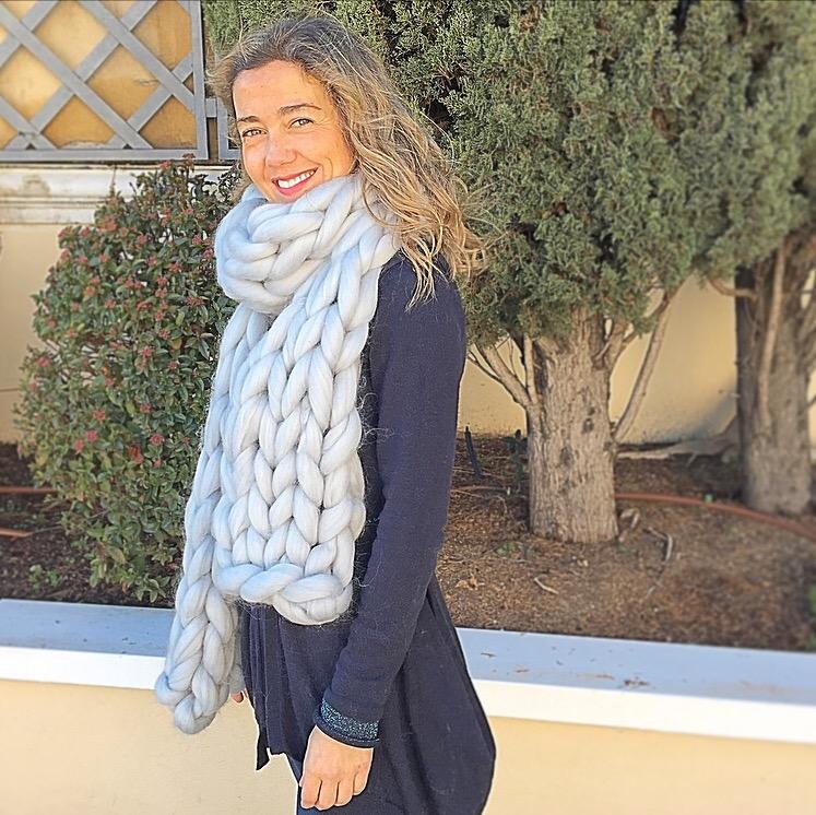 venta caliente online mejores ofertas en brillo de color Bufanda XXL | ModaModaE